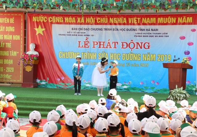 130.000 trẻ em mầm non và tiểu học Hà Nam thụ hưởng chương trình sữa học đường - 3