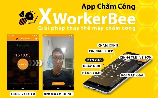 Ứng dụng chấm công XworkerBee, giải pháp hoàn hảo thay thế máy chấm công - 2