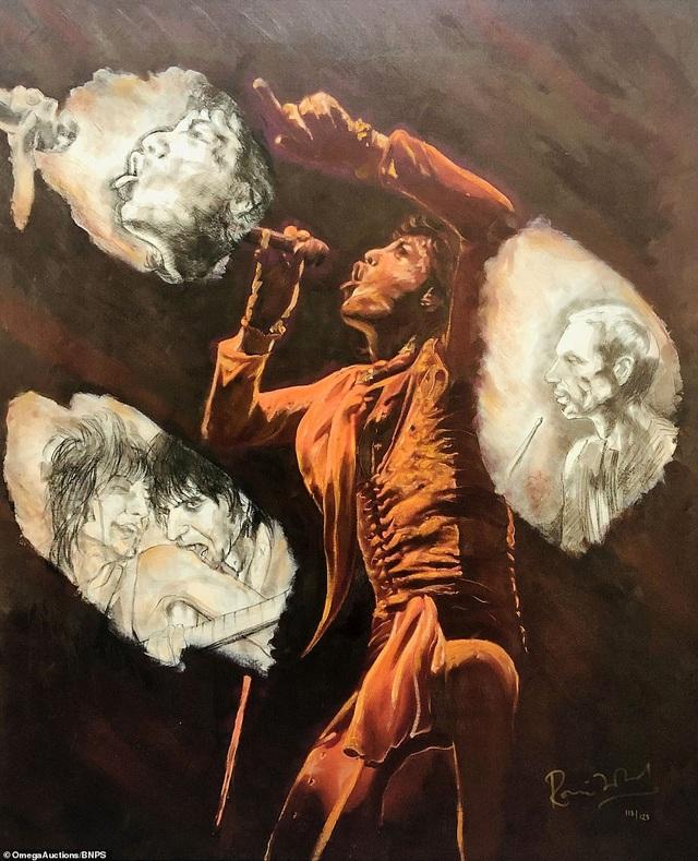 Sửng sốt trước tài năng hội họa của rocker nhóm Rolling Stones - 10