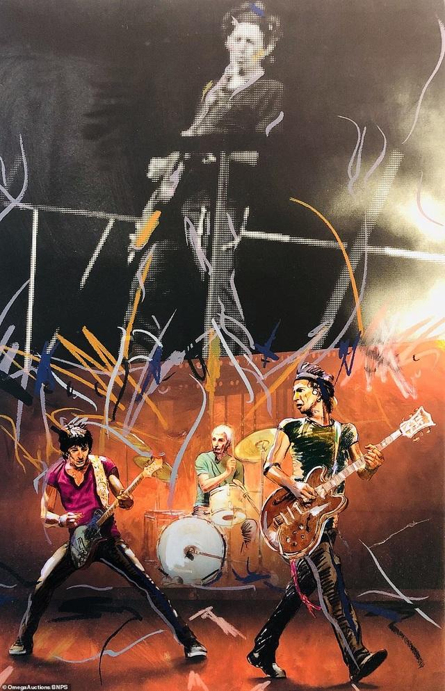 Sửng sốt trước tài năng hội họa của rocker nhóm Rolling Stones - 11