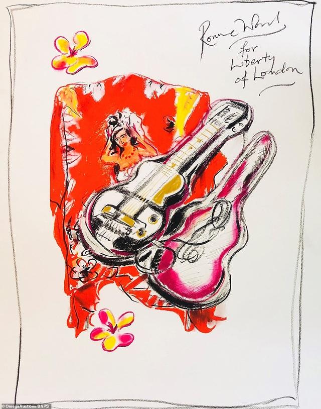 Sửng sốt trước tài năng hội họa của rocker nhóm Rolling Stones - 14