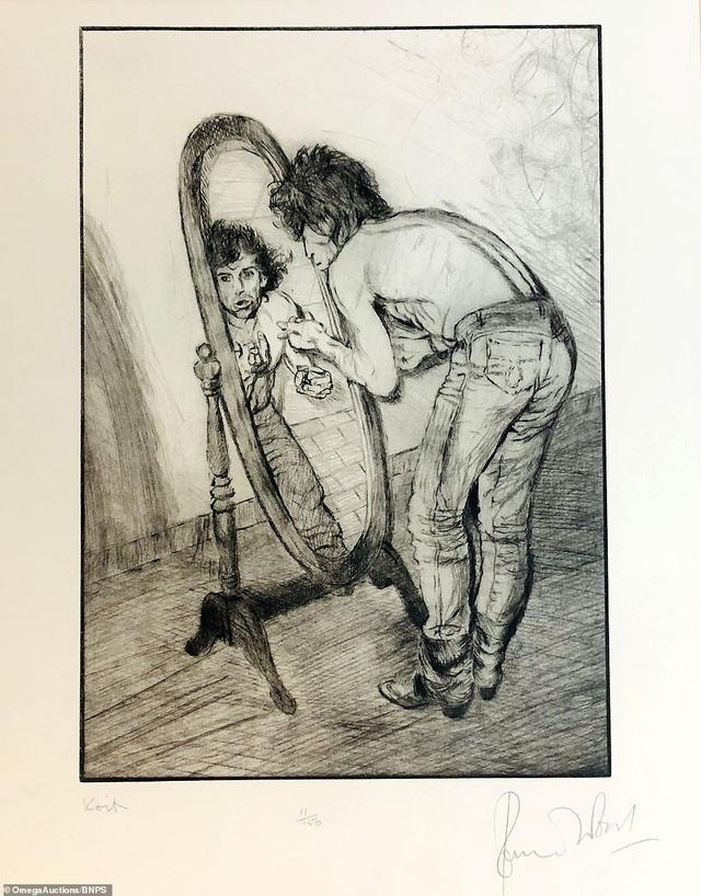 Sửng sốt trước tài năng hội họa của rocker nhóm Rolling Stones - 16