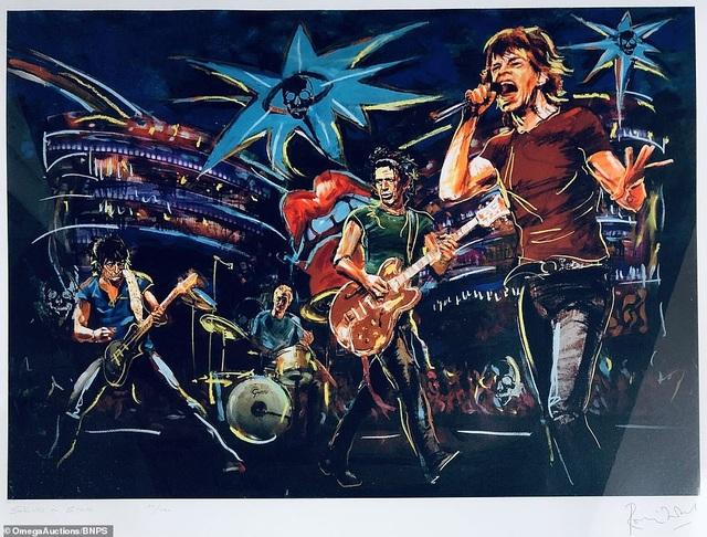 Sửng sốt trước tài năng hội họa của rocker nhóm Rolling Stones - 2