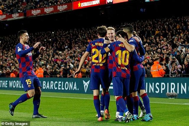 Messi tỏa sáng, Barcelona thắng đậm Mallorca và đòi lại ngôi đầu bảng - 6