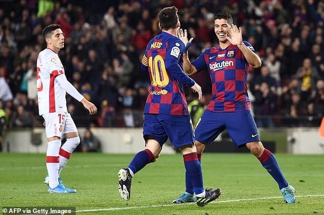 Messi tỏa sáng, Barcelona thắng đậm Mallorca và đòi lại ngôi đầu bảng - 9