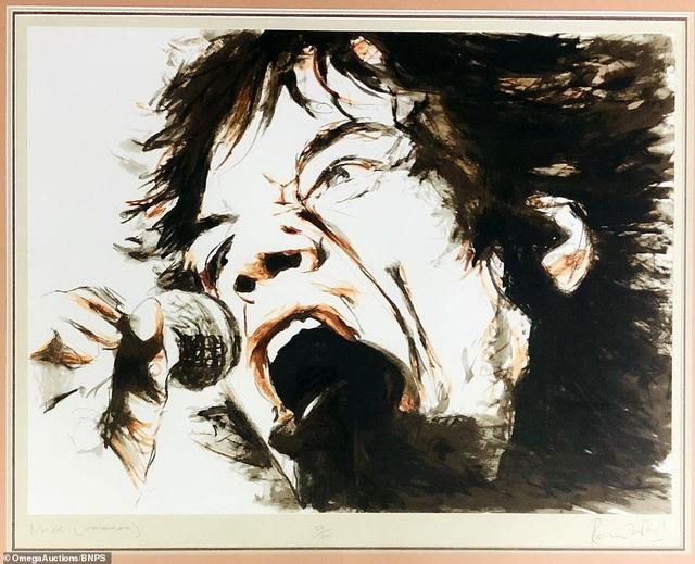 Sửng sốt trước tài năng hội họa của rocker nhóm Rolling Stones - 3