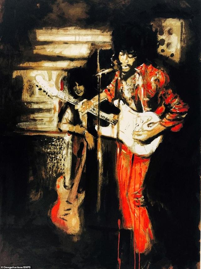 Sửng sốt trước tài năng hội họa của rocker nhóm Rolling Stones - 4