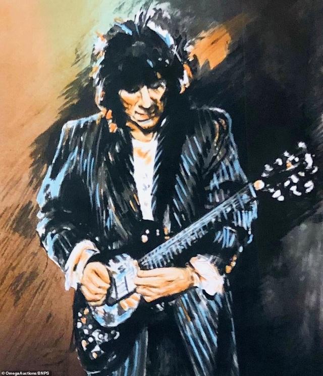 Sửng sốt trước tài năng hội họa của rocker nhóm Rolling Stones - 5