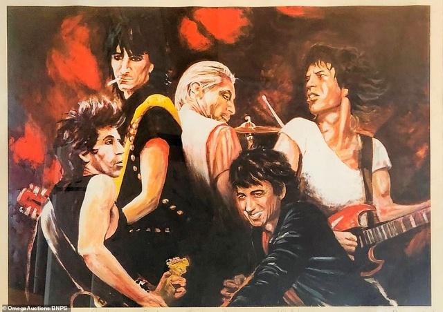 Sửng sốt trước tài năng hội họa của rocker nhóm Rolling Stones - 6