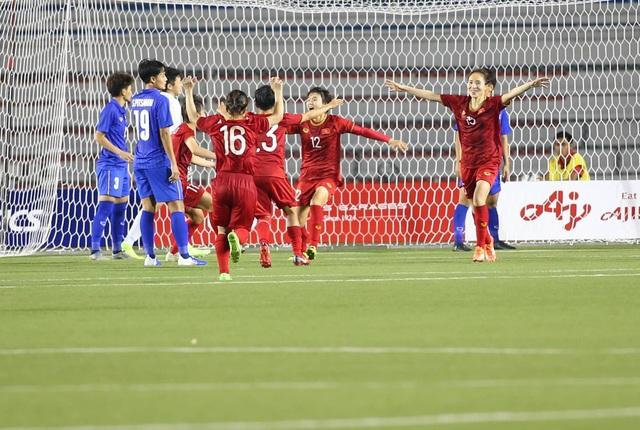 Đánh bại Thái Lan, đội tuyển nữ Việt Nam giành HCV SEA Games 30 - 16