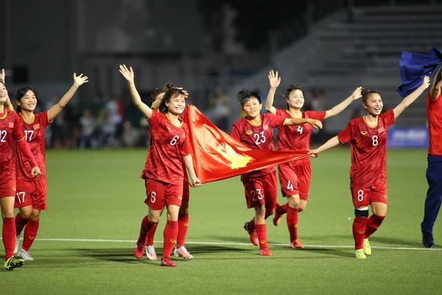 Đánh bại Thái Lan, đội tuyển nữ Việt Nam giành HCV SEA Games 30 - 9