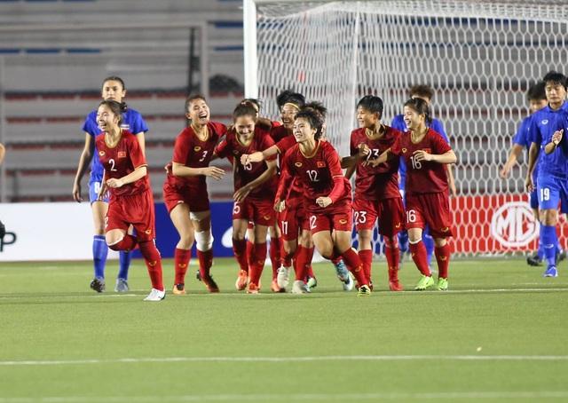 Đánh bại Thái Lan, đội tuyển nữ Việt Nam giành HCV SEA Games 30 - 12