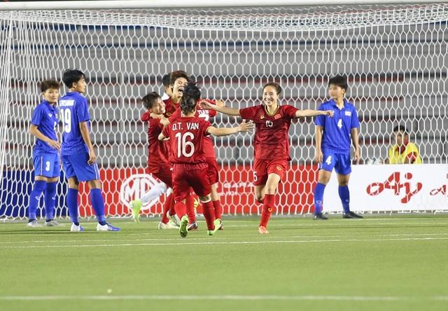 Đánh bại Thái Lan, đội tuyển nữ Việt Nam giành HCV SEA Games 30 - 15