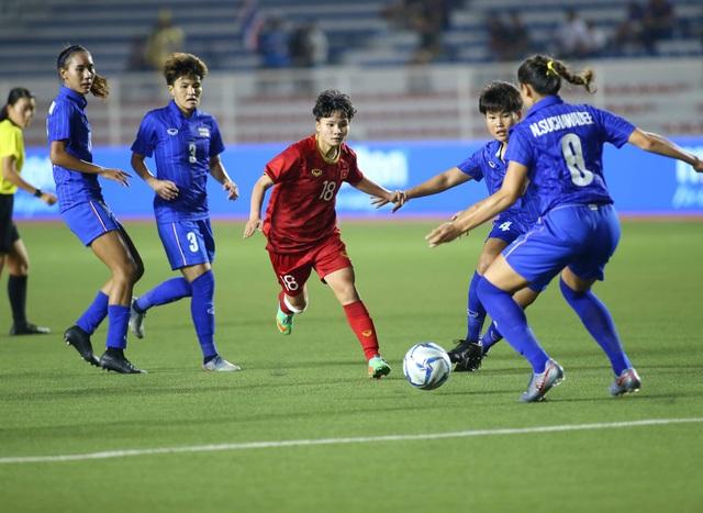 Đánh bại Thái Lan, đội tuyển nữ Việt Nam giành HCV SEA Games 30 - 19