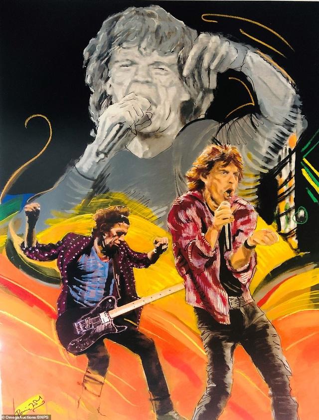 Sửng sốt trước tài năng hội họa của rocker nhóm Rolling Stones - 9