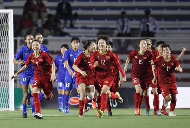 Đánh bại Thái Lan, đội tuyển nữ Việt Nam giành HCV SEA Games 30 - 11