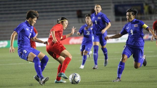 Đánh bại Thái Lan, đội tuyển nữ Việt Nam giành HCV SEA Games 30 - 28