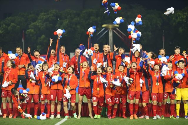 Đánh bại Thái Lan, đội tuyển nữ Việt Nam giành HCV SEA Games 30 - 4