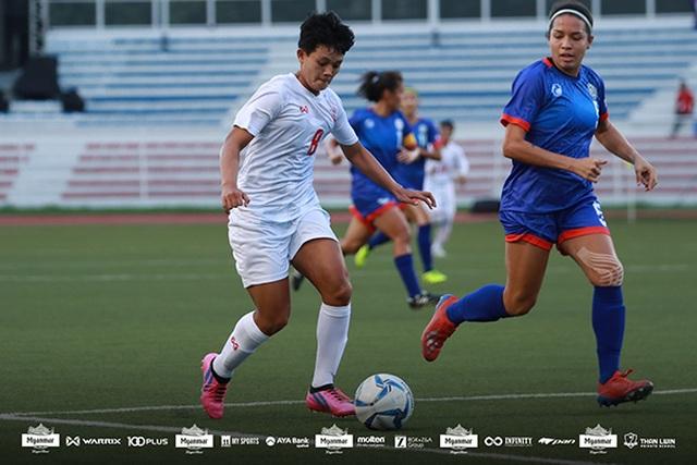 Hạ gục chủ nhà Philippines, nữ Myanmar giành huy chương đồng - 1