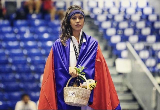 Nữ vận động viên taekwondo Campuchia sở hữu nhan sắc như hoa hậu - 6