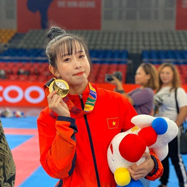 Hot girl làng võ Châu Tuyết Vân lần thứ 4 giành HCV SEA Games - 2