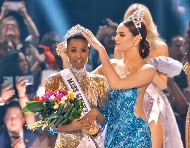Hoàng Thùy dừng chân ở Top 20; Người đẹp Nam Phi giành danh hiệu Hoa hậu hoàn vũ - 1