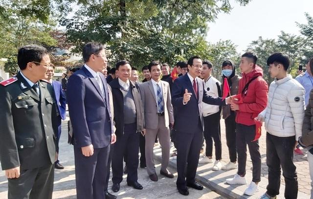 Bộ trưởng Đào Ngọc Dung: Doanh nghiệp chính là trường nghề thực hành của thợ trẻ - 1