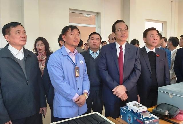 Bộ trưởng Đào Ngọc Dung: Doanh nghiệp chính là trường nghề thực hành của thợ trẻ - 3