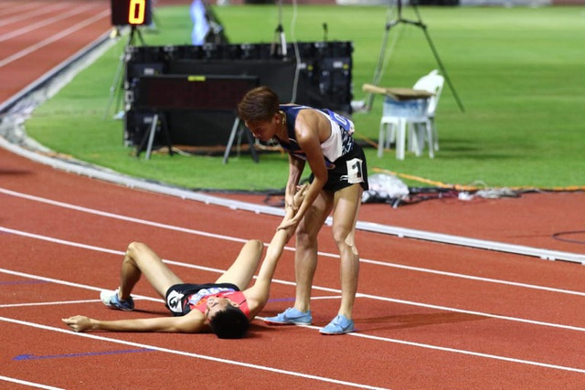 Bị đối thủ chơi xấu, Dương Văn Thái vẫn xuất sắc giành HCV - 1