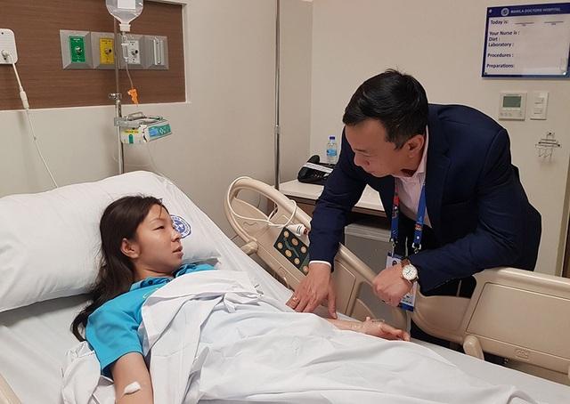 Tuyển thủ nữ Việt Nam kiệt sức, nhập viện cấp cứu - 2