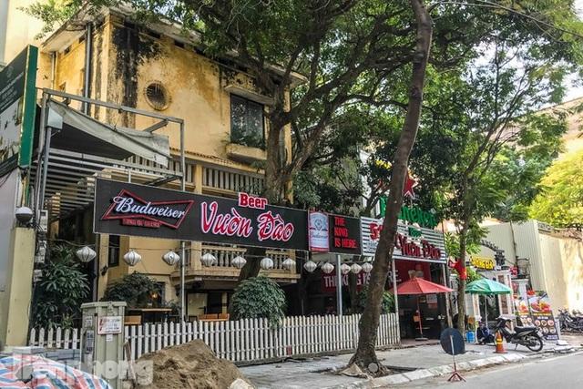 Biệt thự cổ Hà Nội thi nhau thành nhà hàng, quán nhậu - 1