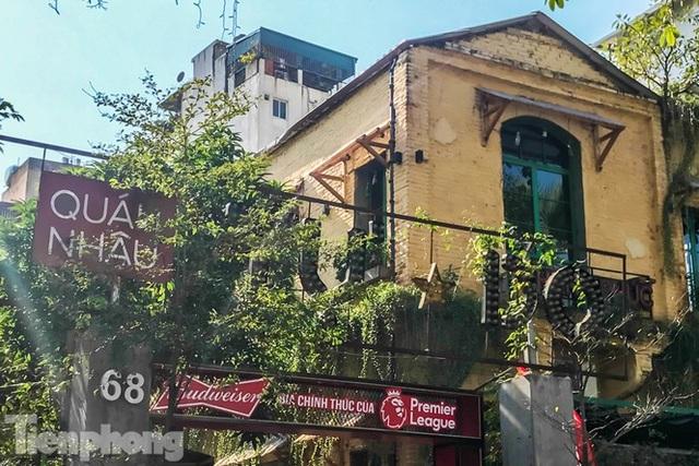 Biệt thự cổ Hà Nội thi nhau thành nhà hàng, quán nhậu - 10