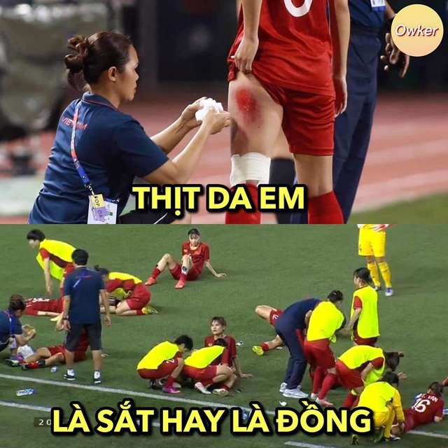 Những hình ảnh đầy ý nghĩa được dân mạng chia sẻ với đội bóng đá nữ Việt Nam - 6