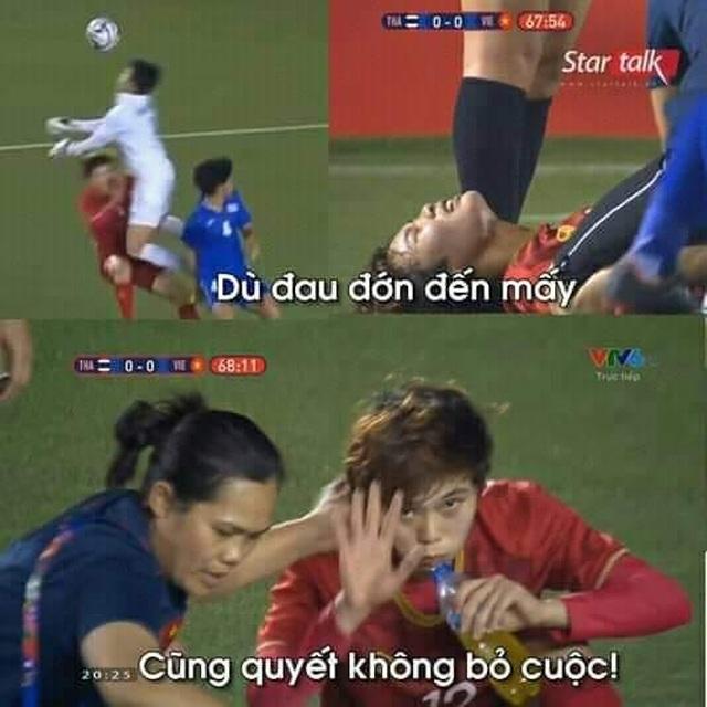 Những hình ảnh đầy ý nghĩa được dân mạng chia sẻ với đội bóng đá nữ Việt Nam - 5