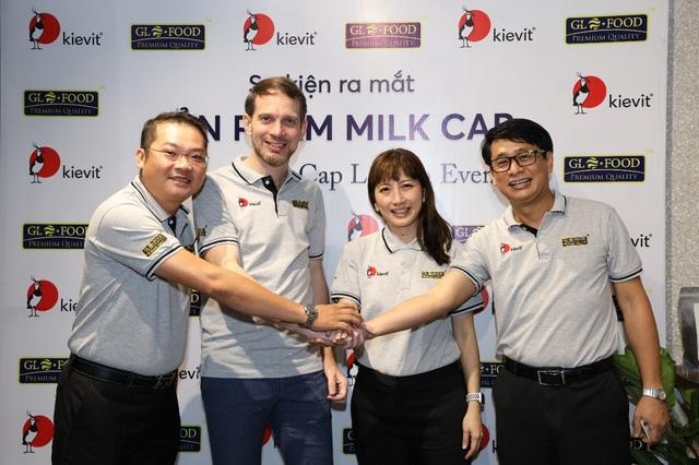 GLOFOOD trở thành đối tác độc quyền của Kievit phân phối sản phẩm Milk Cap tại Việt Nam - 1