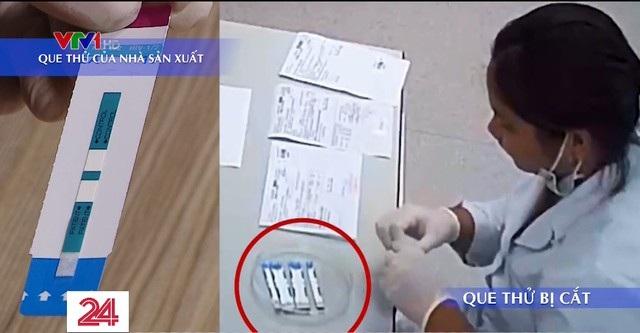 Công an điều tra vụ cắt đôi test xét nghiệm HIV tại bệnh viện Xanh Pôn - 1