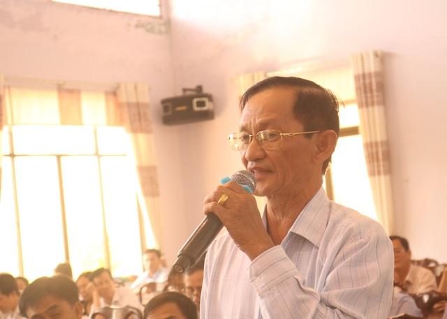 Cử tri Long An kiến nghị nhiều vụ việc nóng với Phó Thủ tướng Trương Hòa Bình - 2