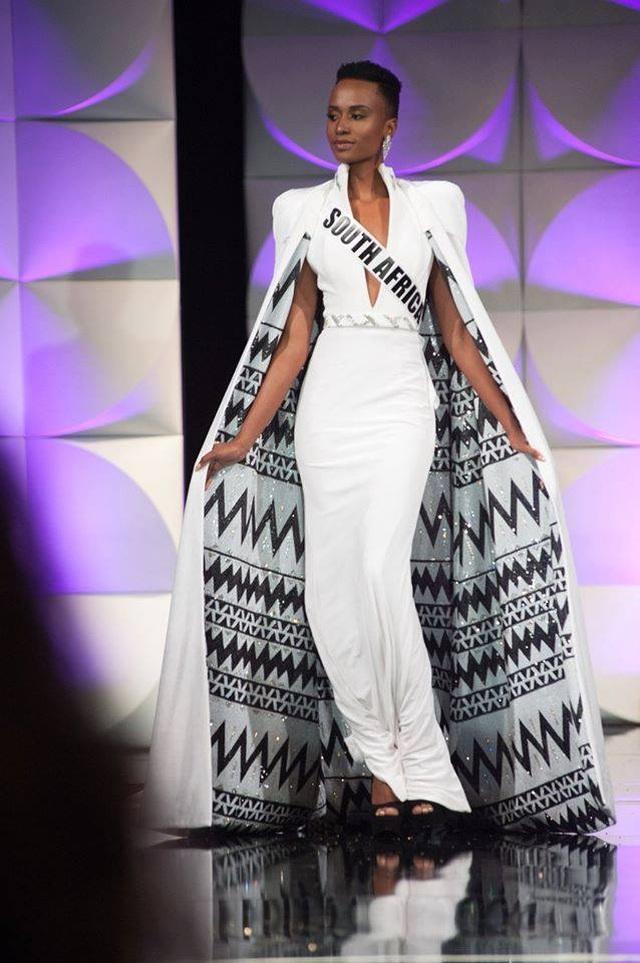 Ấn tượng với vẻ đẹp đen cá tính cùng trí tuệ của tân Hoa hậu Hoàn vũ - 25