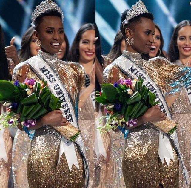 Ấn tượng với vẻ đẹp đen cá tính cùng trí tuệ của tân Hoa hậu Hoàn vũ - 1