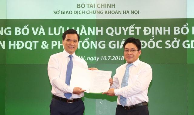 Bộ Tài chính nói gì về lãnh đạo Sở Chứng khoán Hà Nội lên chức thần tốc? - 1