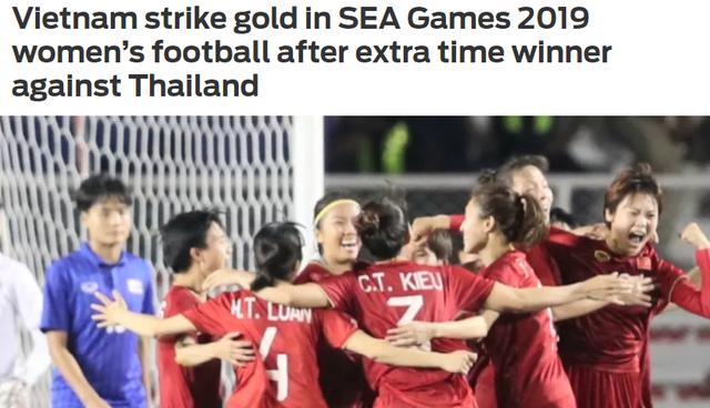 """Báo châu Á: """"Đội tuyển bóng đá nữ Việt Nam thống trị Đông Nam Á"""" - 2"""