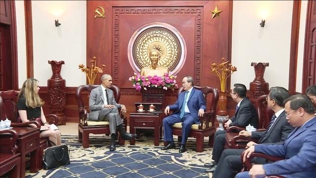 Cựu Tổng thống Hoa Kỳ Barack Obama bất ngờ trở lại TPHCM - 2