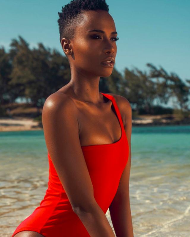 Ấn tượng với vẻ đẹp đen cá tính cùng trí tuệ của tân Hoa hậu Hoàn vũ - 4