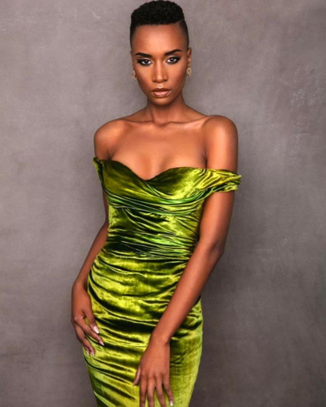 Ấn tượng với vẻ đẹp đen cá tính cùng trí tuệ của tân Hoa hậu Hoàn vũ - 5