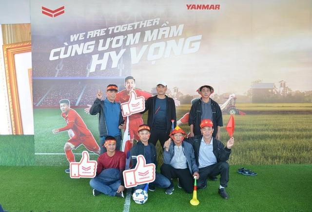 Yanmar mở gian hàng nhà tài trợ cổ vũ bóng đá trận đấu Việt Nam - Thái Lan - 5