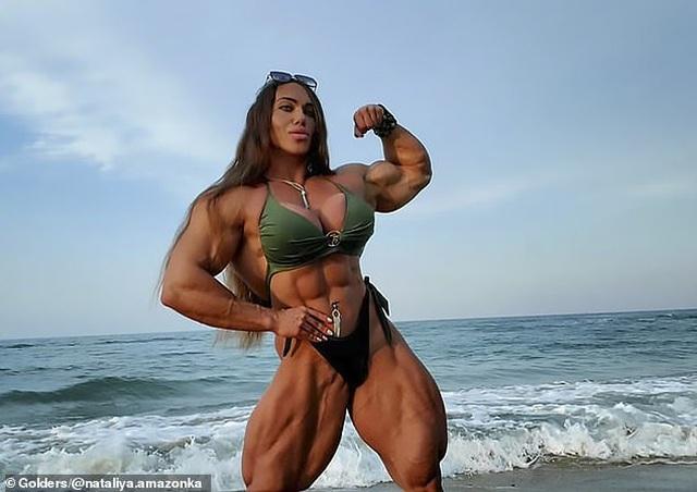 Hình ảnh nữ vận động viên sở hữu cơ bắp... cuồn cuộn gây sốc với cộng đồng mạng - 1