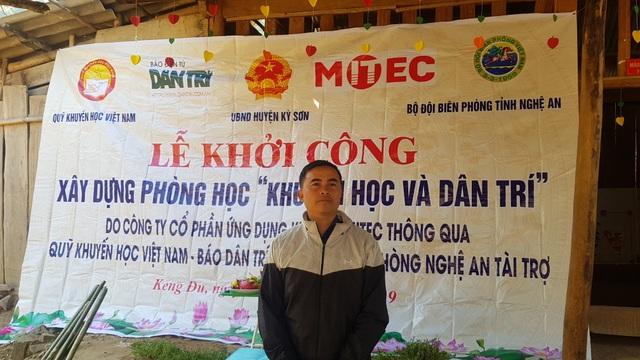 Báo Dân trí khởi công xây dựng trường Mầm non sát biên giới Việt - Lào - 3