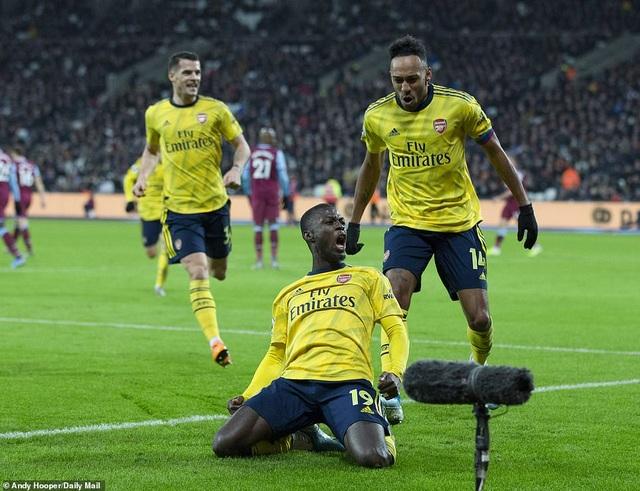West Ham 1-3 Arsenal: Chiến thắng đầu tay cho Ljungberg - 2