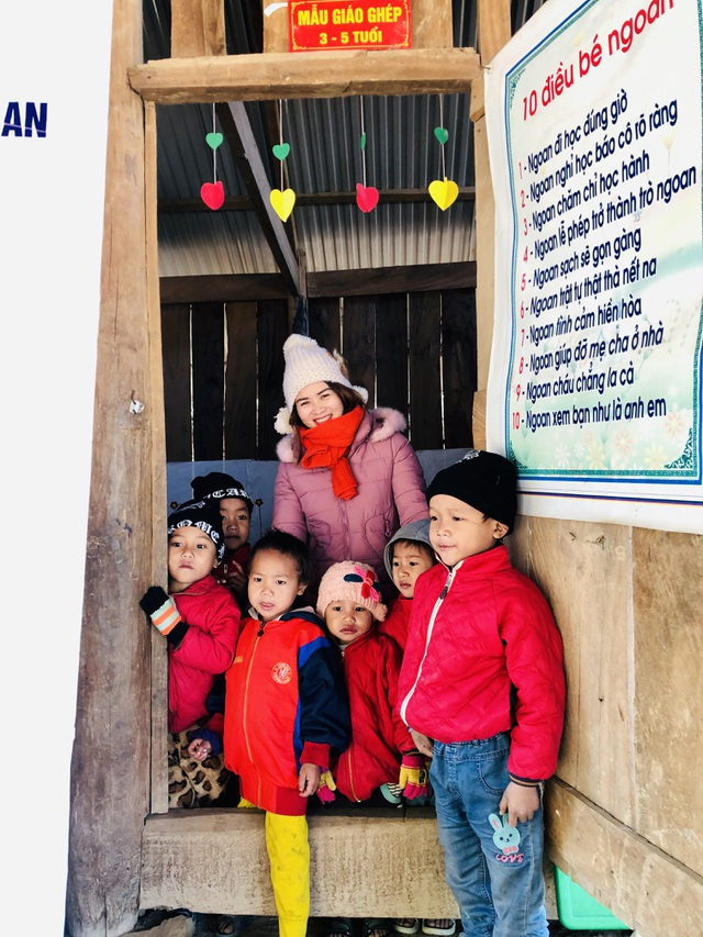 Báo Dân trí khởi công xây dựng trường Mầm non sát biên giới Việt - Lào - 5