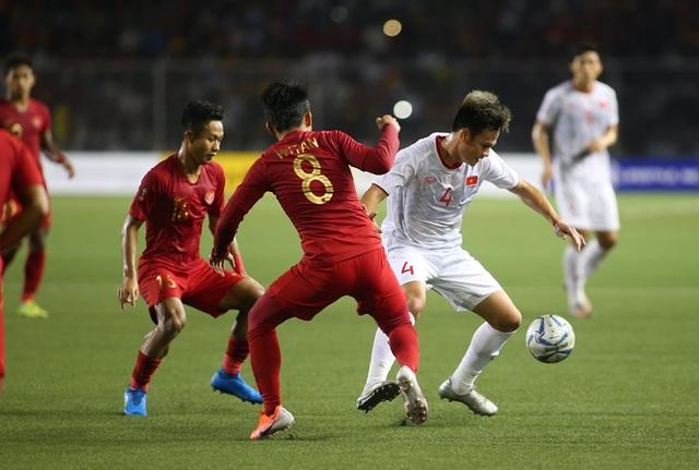 [ẢNH] Cảm xúc hạnh phúc của cầu thủ U22 Việt Nam trong chiến thắng lịch sử tại SEA Games - 9